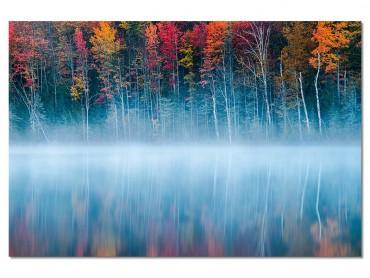 Tableau Deco Lac au Matin