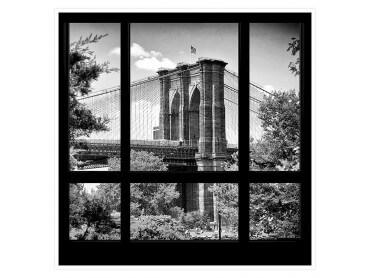 Affiche deco Regard sur Brooklyn Bridge