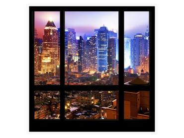 Affiche deco New Yok Financial District