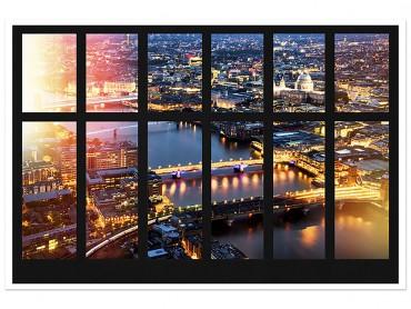 Affiche New York Hudson River