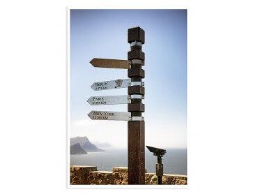 Affiche Photo Capetown Au bout du monde