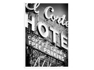 Affiche Photo Motel Black Nevada