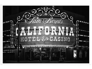 Affiche Deco Casino Black California