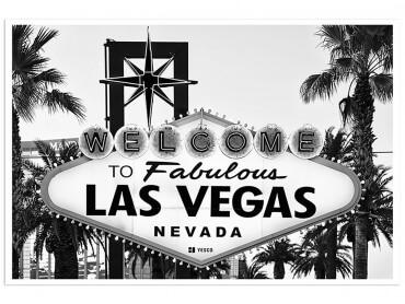 Affiche Vegas Black California