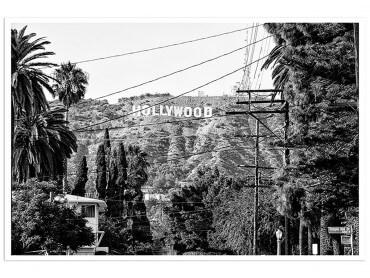 Poster Deco Sunset Bd Black California