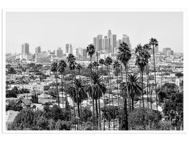 Poster Deco L.A Black California
