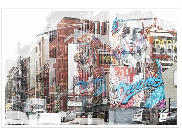 Affiche Deco NY Urban Abstraction