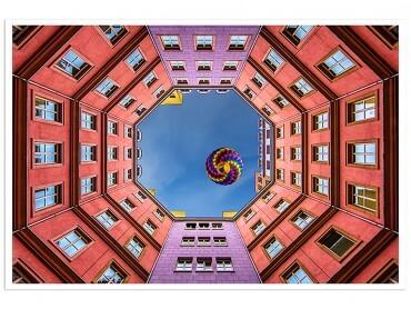 Poster Deco Octogone à Berlin