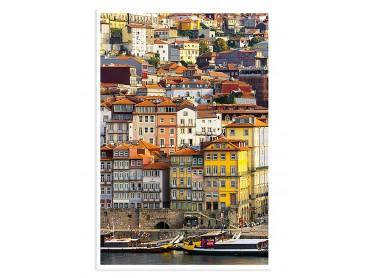 Poster Photo Porto Rio Douro