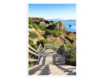 Affiche paysage Praia do Camilo - WelcomeToPotugal