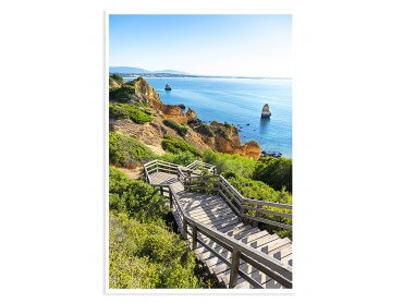 Affiche Paysage Algarve Beach - WelcomeToPortugal