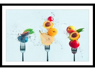 Affiche Cuisine Une salade de fruit !