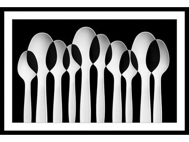 Affiche Cuisine Spoon Design