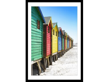 Affiche Cabane de Surf