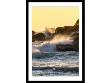 Affiche Photo Bruit de vagues