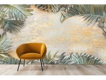 Papier peint palmier vintage