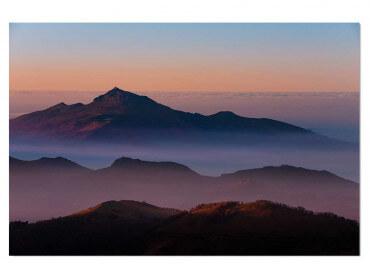 Tableau paysage Au sommet de la Rhune