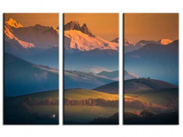 Tableau paysage Zoom sur le Pic du Midi d'Ossau
