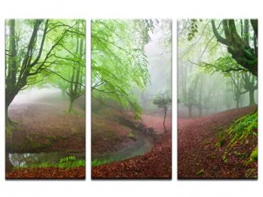 Tableau paysage Renaissance verte