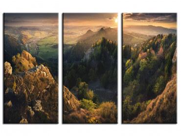 Tableau paysage Là - haut