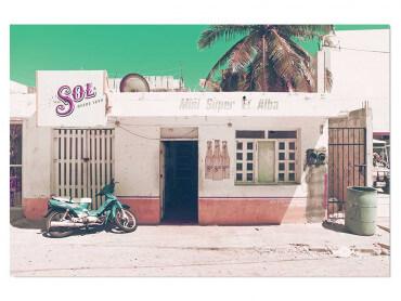 Tableau photo Soleil du Mexique