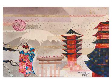 Tableau deco Japon et Traditions