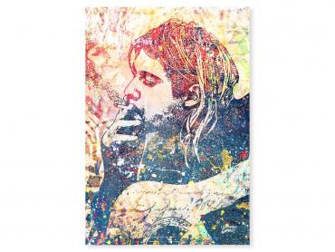 Tableau Pop Art Kur Cobain Street