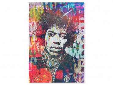 Tableau Pop Art Jimmy hendrix Psyché
