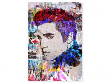 Tableau Pop Art Elvis Presley Cut Papers
