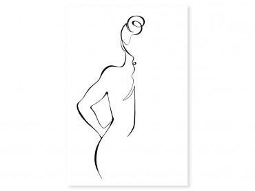 Tableau Dessin Croquis de femme