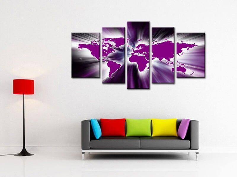 Tableau design abstrait meilleures images d 39 inspiration pour votre desi - Toile tableau pas cher ...