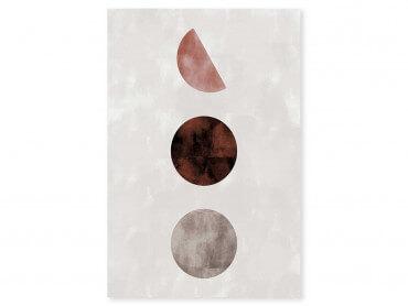 Tableau Déco Lune pleine