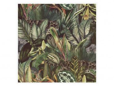Affiche déco Jaguar et jungle