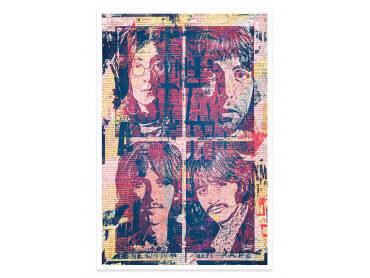 Affiche Pop Art Lennon et Cie