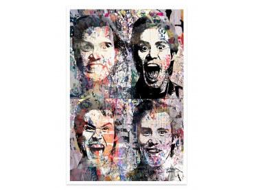 Affiche Pop Art Jim Carrey the Mask