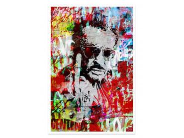 Affiche Pop Art Johnny fuck Street