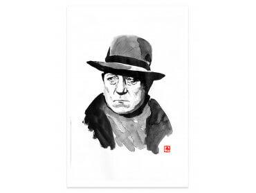 Poster portrait de Jean Gabin