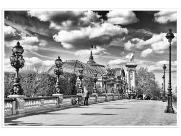 Affiche Paris Verrière du Grand Palais