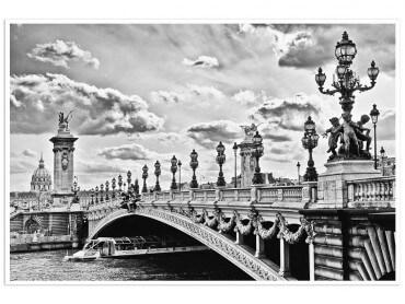 Affiche Paris Pont Alexandre III