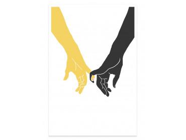 Affiche Dessin Yellow swear