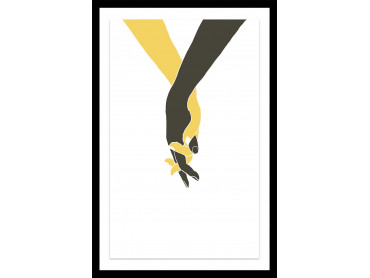 Affiche Dessin Tiens moi la main