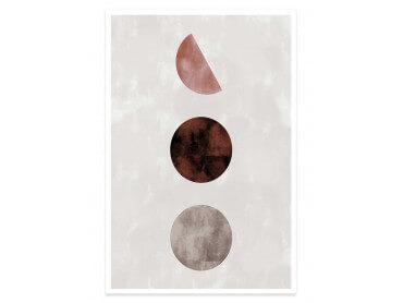 Affiche Déco Lune pleine