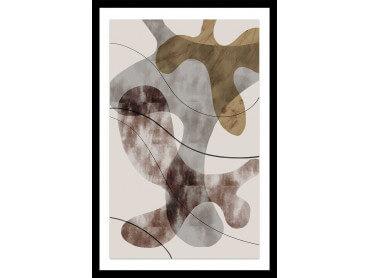 Affiche Déco Organisme abstrait N°1