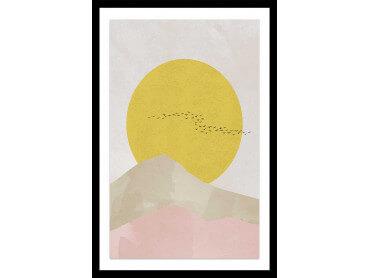 Affiche Déco Envolée au soleil