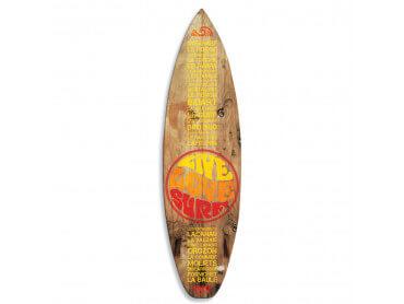 Planche de Surf Live Love Surf, 150x40 cm