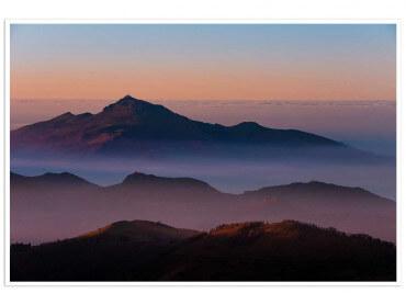 Affiche paysage Au sommet de la Rhune