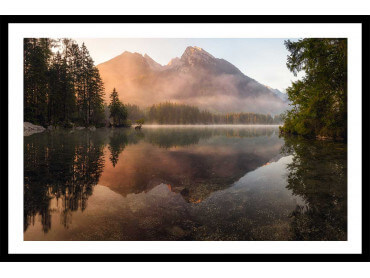 Affiche paysage Mirror Moutain