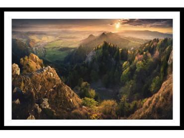 Affiche paysage Là - haut
