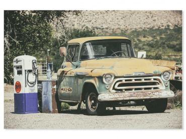 Tableau photo voiture classic legend