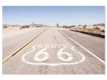 Tableau paysage road 66 go...